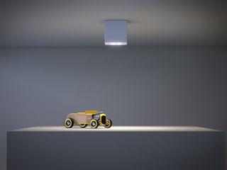 CUBO Ailis Lighting Solutions Ingresso, Corridoio & ScaleIlluminazione