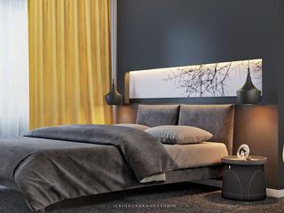 ILKIN GURBANOV Studio Modern Bedroom