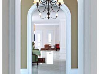 ILKIN GURBANOV Studio Classic style corridor, hallway and stairs