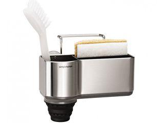 sink caddy, stainless steel simplehuman CucinaContenitori & Dispense