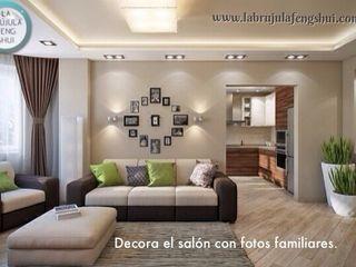 La brujula Feng Shui 客廳配件與裝飾品