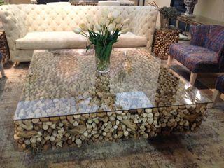 La brujula Feng Shui 客廳邊桌與托盤