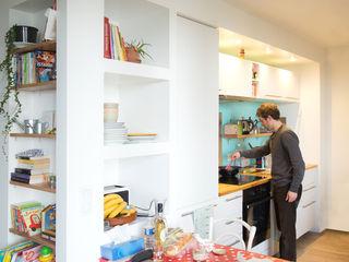 Appartement TM #9 ATELIER R ARCHITECTES Cuisine moderne