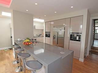 Gloss Kitchens LWK London Kitchens Dapur Modern