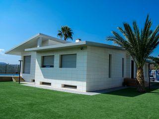 abierto al exterior ZimmeR designer Jardines de estilo moderno