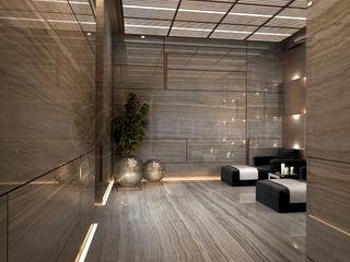 NEUMARK Eclectic corridor, hallway & stairs