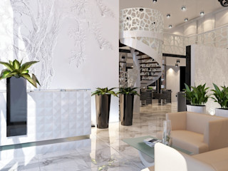 Design Projects Modern corridor, hallway & stairs