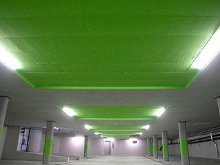 Wohnüberbauung Linde . Oberuster 2006 . stemmle++architekten nachtaktiv GmbH Minimalistische Garagen & Schuppen