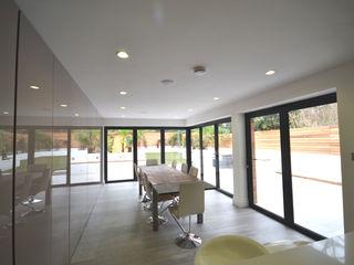 Clifton Road - Period Refurbishment Nic Antony Architects Ltd Ruang Makan Modern