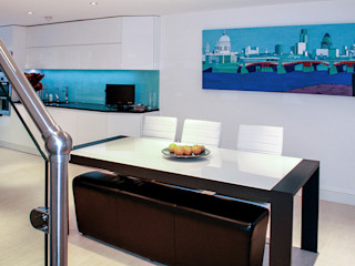 Interior House Remodelling, London E14 Nic Antony Architects Ltd Ruang Makan Modern