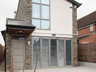 New Build House, London Nic Antony Architects Ltd Rumah Gaya Country