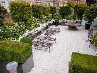 Belgravia Roof Terrace Cameron Landscapes and Gardens Jardines de estilo clásico