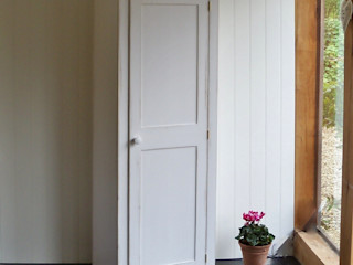 Hand Painted Bookcases and Cupboards Rectory Blue Living roomCupboards & sideboards