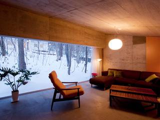 YASUO TERUI Architects Inc. Вітальня
