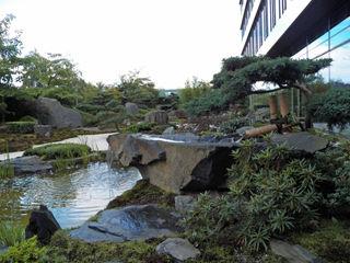 Kokeniwa Japanische Gartengestaltung Asian style office buildings