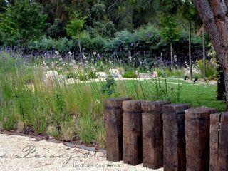 Jardin del estanque La Paisajista - Jardines con Alma Jardines de estilo mediterráneo