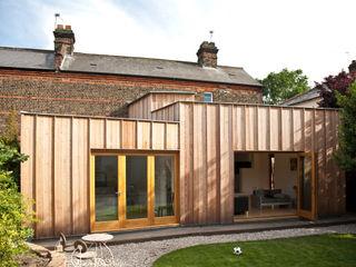 Timber Fin House Neil Dusheiko Architects Modern home