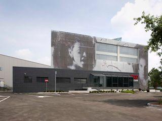 ADS Studio di Architettura Edificios de oficinas de estilo moderno