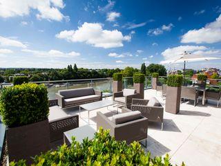 Kew Roof Terrace Cameron Landscapes and Gardens Terrazas en el techo