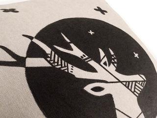 Animal instinct pillow series Carbon Dreams by Gül Arı Ev İçiTekstil Ürünleri