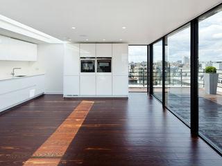 Hallam Street Sonnemann Toon Architects Modern Kitchen
