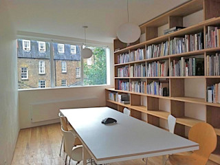 South London Office Caseyfierro Architects Study/officeCupboards & shelving