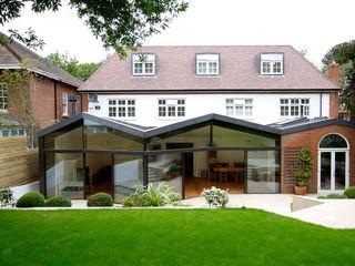 North London House Extension Caseyfierro Architects Salas modernas