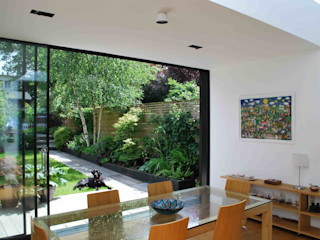 Suburban House Extension North London Caseyfierro Architects Scandinavian style dining room