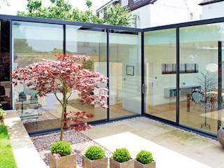 FAMILY HOUSE Extension Caseyfierro Architects Modern Windows and Doors