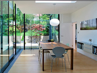 FAMILY HOUSE Extension Caseyfierro Architects Modern Dining Room