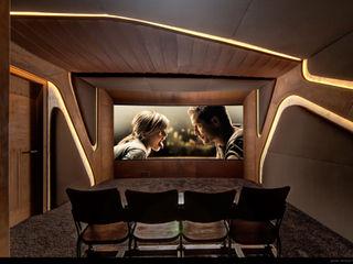 Barefoot Design Minimalist media room