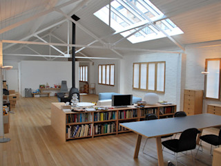 Jasper Morrison Design Office and Studio - London Caseyfierro Architects Living room