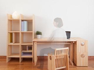 OBUSUMA tona BY RIKA KAWATO / tonaデザイン事務所 Study/officeChairs