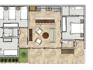 Natali de Mello - Arquitetura e Arte Maisons tropicales