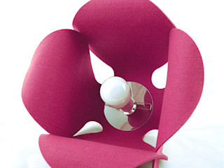 Pink Pug Design Dormitorios de estilo minimalista