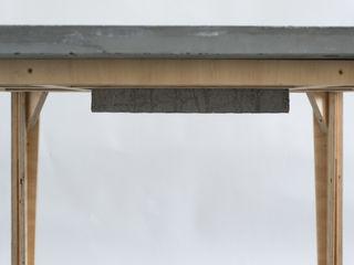 Accidental Concrete Yemek OdasıMasalar