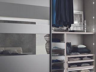 segmenta - Sliding glass door wardrobes Lamco Design LTD BedroomWardrobes & closets