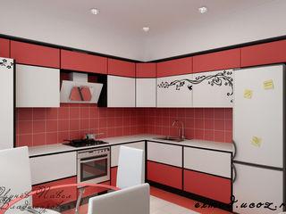 Цунёв_Дизайн. Студия интерьерных решений. Cocinas minimalistas