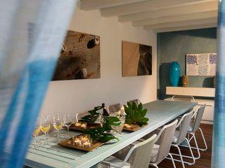 VILLA FORTE dei MARMI -LU- ITALY Studio Architettura Carlo Ceresoli Balcone, Veranda & TerrazzoAccessori & Decorazioni