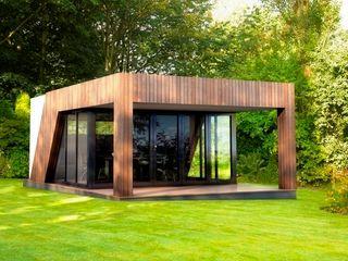 Luxury garden room - gymnasium The Swift Organisation Ltd Modern garden