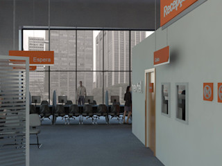 Logi Arquitetura Kantor & Toko Modern