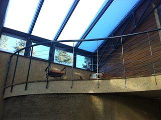 eco-designer Modern style conservatory