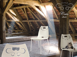 """CATS the new chair by dimarziodesign dedicated to the """"comfort experts"""", wants to be a mention to the Applied Arts of the past that revolutionized the way of conceiving the industrial product. dimarziodesign HouseholdAccessories & decoration"""