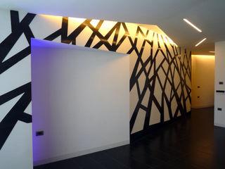 casa Pannella raffaele iandolo architetto Pareti & PavimentiRivestimenti pareti & Pavimenti