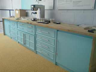 upcycled feature - DOVER cabinet Claire Potter Design Living roomCupboards & sideboards