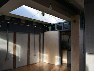 Studio Loo - a new office space from an old public wc Claire Potter Design Industrial style office buildings