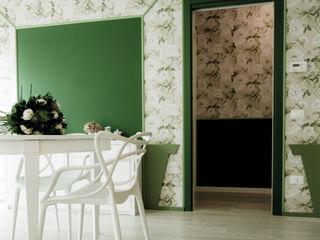 Casa_privata_Chiampo Studiogkappa Sala da pranzo moderna