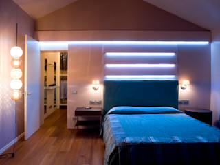 Casa_privata_Vicenza Studiogkappa Camera da letto moderna