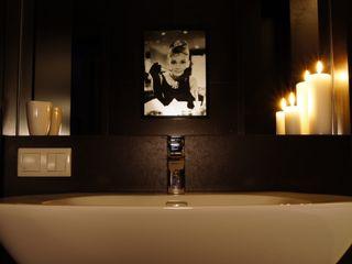 Aleksandra Jaros Pracownia Architektury i Wnętrz Eclectic style bathroom