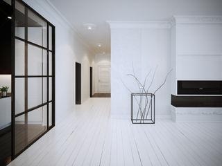 OFD architects Salones de estilo minimalista